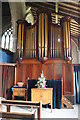 TF1442 : Organ, St John the Baptist church, Great Hale by J.Hannan-Briggs