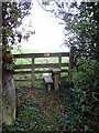 SP7737 : Stile onto Ouse Valley Way by Philip Jeffrey