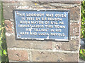 TQ9220 : Plaque at Lookout, Rye by Graham Robson