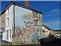 SX3569 : Large mural, Well Street, Callington : Week 41