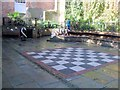 TQ8209 : Chess Board, George St, Hastings by Paul Gillett