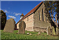 SP9505 : Churchyard by Tom Presland