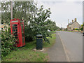 TL4881 : Phonebox in Coveney by Hugh Venables