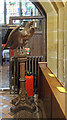 TQ4418 : St Margaret of Antioch, Isfield - Lectern by John Salmon