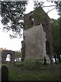 SK7685 : The ruins of St. Helen's church, South Wheatley by Jonathan Thacker