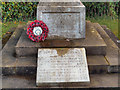 NY6665 : Greenhead War Memorial Dedication by David Dixon