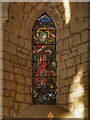 NY5563 : Lanercost Priory Church, Cecilia Roberts Memorial Stained Glass Window by David Dixon