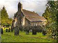 NY8773 : St Mungo's Church, Simonburn by David Dixon