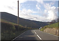 SH9113 : Entering Gwynedd on A458 by John Firth