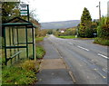 SO3302 : Rumble Street bus stop, Monkswood by John Grayson