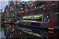 SP0686 : Narrowboats in Birmingham by Stephen McKay