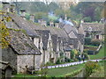 SP1106 : Arlington Row, Bibury by John Darch