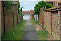 TV5099 : The footway between Willow Drive and Rowan Close by Robin Webster
