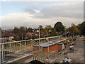 SJ8590 : Metrolink Construction Site, East Didsbury by David Dixon