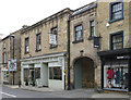 SK2168 : Bakewell - antiques shop on King Street by Dave Bevis