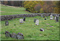NN5458 : Cemetery at Killichonan by Trevor Littlewood