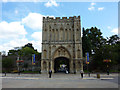 TL8564 : Abbey Gate, Bury St. Edmunds by Richard Cooke