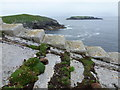 NA7246 : Flannan Isles: view over the railway towards Soraigh by Chris Downer