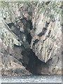 NA7246 : Flannan Isles: cave in Eilean Mòr by Chris Downer