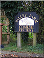 TM3673 : Valley Farm sign by Adrian Cable