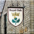 SJ9799 : Sign of the Royal Oak by Gerald England