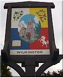 TQ5372 : Wilmington Village Sign by David Anstiss