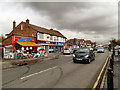 SJ8485 : Heald Green, Shops on Finney Lane by David Dixon