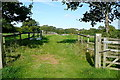 SP2319 : Footpath towards Idbury by Graham Horn
