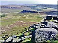 SK2581 : Carl Wark from Higger Tor by Chris Morgan