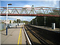 SU8650 : Footbridge across the tracks by Scriniary