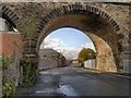 SD7807 : Milltown Street, through the viaduct by David Dixon