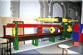 SJ6604 : Enginuity - hydraulic testing machine by Chris Allen