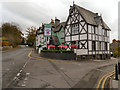 SJ8478 : De Trafford Arms, Alderley Edge by David Dixon