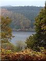 SK2085 : Glimpse of Ladybower Reservoir in autumn by Andrew Hill