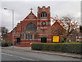 SJ8894 : St Mark's Church, Levenshulme by David Dixon