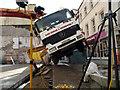 SC3875 : Oops! Lorry tips over in Strand Street : Week 45