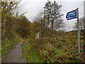 SK0195 : Trans Pennine Trail towards Broadbottom by David Dixon