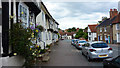 TL9149 : Crooked Houses, Church Street, Lavenham by Richard Cooke