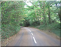 SW8140 : Tregye Road east of Come to Good by Stuart Logan
