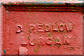 "J0858 : ""Pedlow"" corner protection, Lurgan (2) by Albert Bridge"
