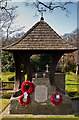 TQ4465 : Memorial Garden, St Paul's Church, Crofton by Ian Capper