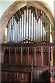 SK9341 : Organ, St Nicholas' church, Barkston by J.Hannan-Briggs