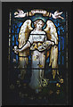 SD6392 : The angel of Peace, St Gregory's Church near Sedbergh by Karl and Ali