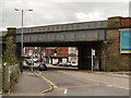 SJ9598 : Rassbottom Street Railway Bridge by David Dixon