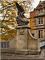 SJ9698 : Angel with Sailor, Stalybridge War Memorial by David Dixon