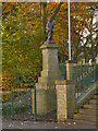 SJ9696 : Victoria Street War Memorial by David Dixon