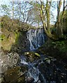 NS2785 : Waterfall at reservoir outflow by Lairich Rig