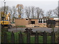 TA1132 : Demolishing Tweendykes Special School by Ian S