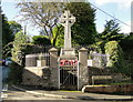 SO4967 : War Memorial, Orleton by Philip Pankhurst