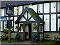 SJ6352 : The Star Inn (entrance) at Acton, Cheshire by Roger  Kidd